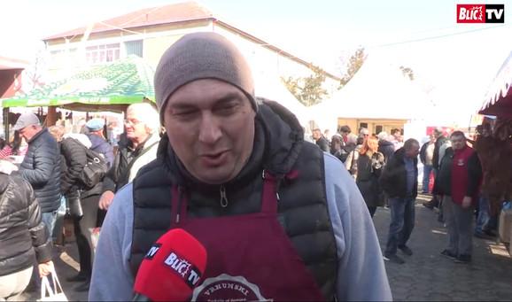 Vicešampion iz Kuzmina od prošle godine, najavljuje ljutu borbu za iduću, 34. Slaninijadu