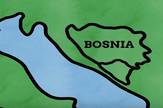 mapa BiH