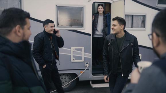 Sa snimanja spota Jovane Nikolić