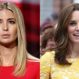 Bitwa Gwiazd: Ivanka Trump vs księżna Kate