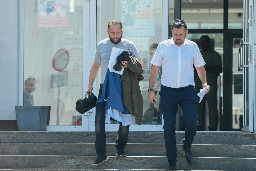 Kamil Durczok po wyjściu na wolność