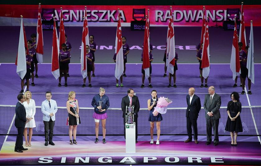 Łzy Radwańskiej na podium. Wzruszające słowa