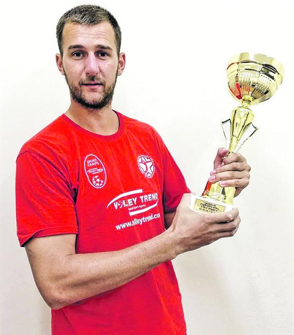 Nenad Rakić sjajni srednji bloker proveo je nekoliko sezona na Kipru i u Sloveniji