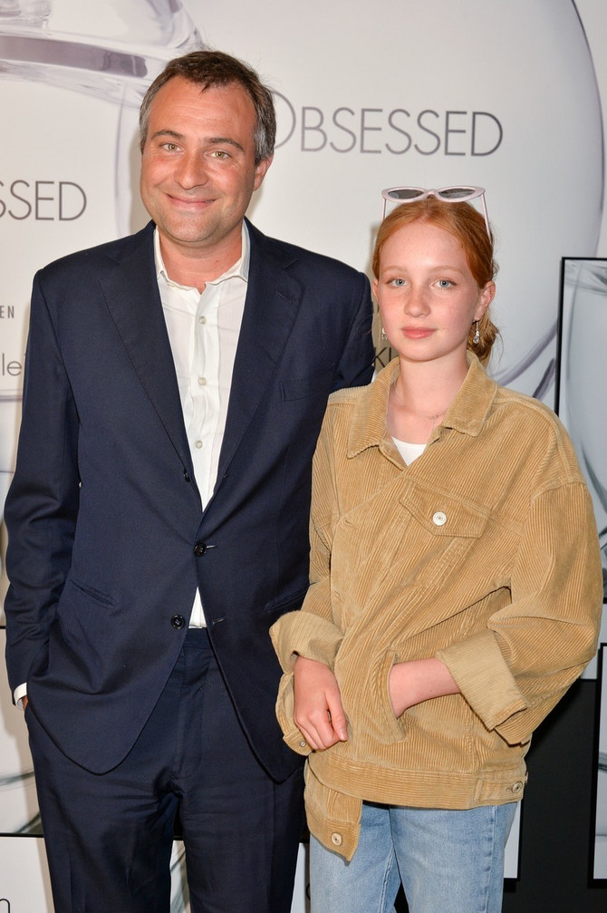 Ben Goldsmit sa ćerkom Iris