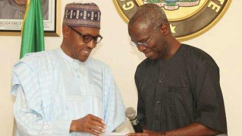 Image result for Babatunde Fashola and Buhari
