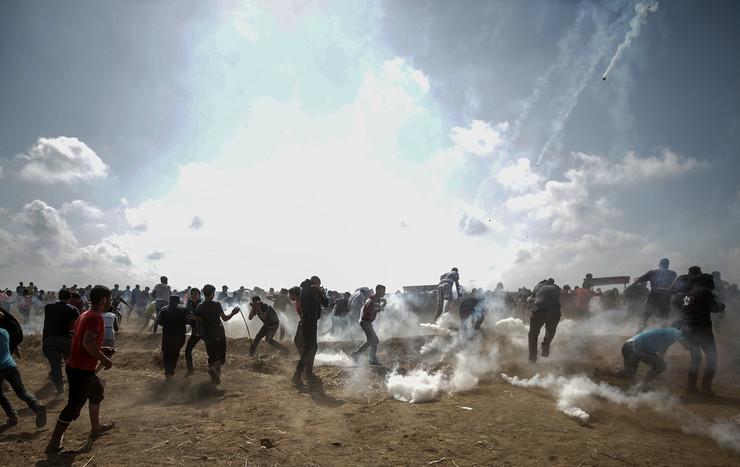 Pojas Gaze, Palestinci, Palestina, Izrael, protest
