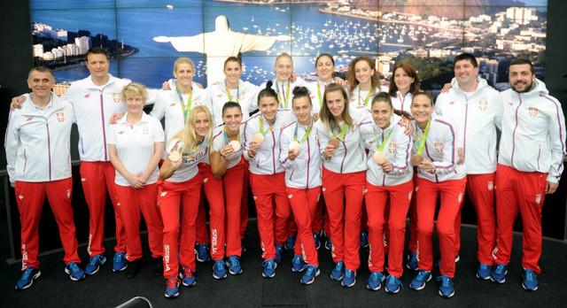 Ženska košarkaška reprezentacija Srbije u našoj redakciji