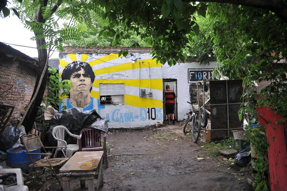 epa08850065 - ARGENTINA MARADONA (Reactions to the death of Diego Armando Maradona)