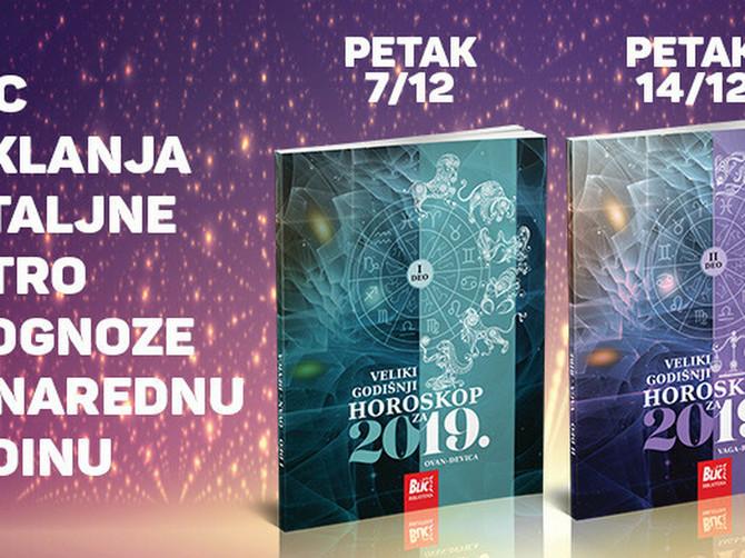 """Šta nam spremaju zvezde za 2019. godinu saznajte u poklon horoskopu uz """"Blic"""""""