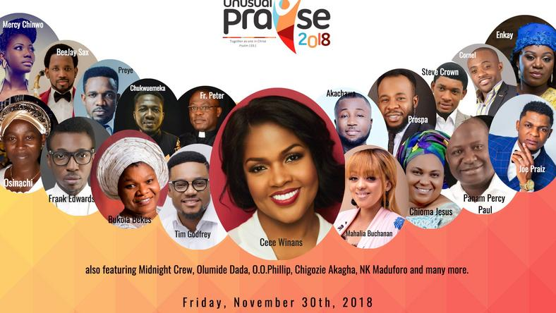 Unusual Praise 2018- A night of unforgettable spiritual connection, singing and worship