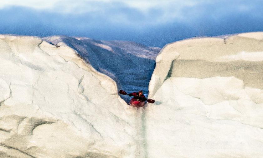 Kajaki ekstremalne na lodowcu