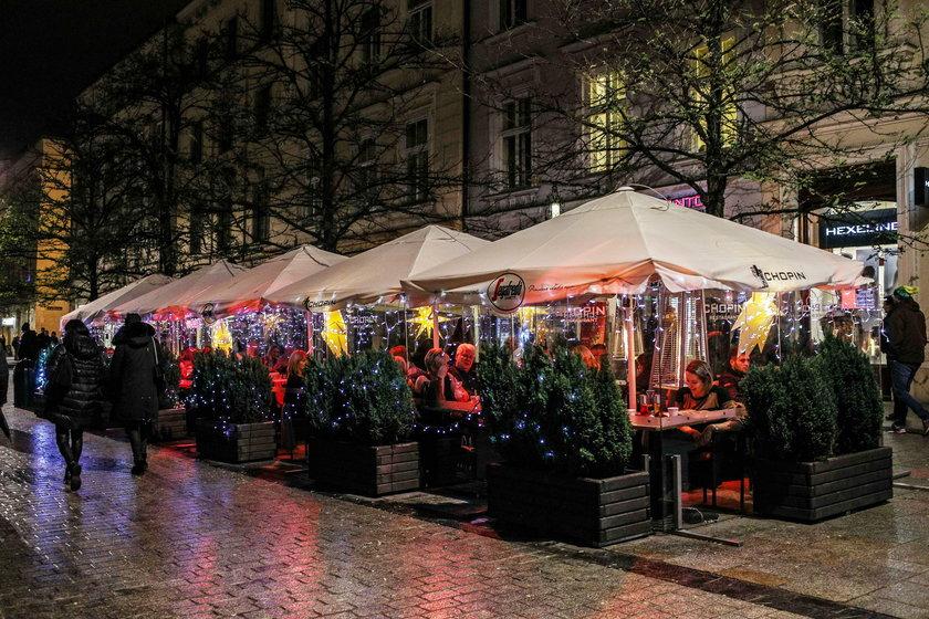 Choinka na Rynku Głównym w Krakowie