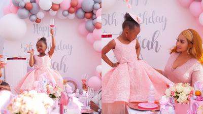 How Zari Hasan's daughter Tiffah 5th Birthday Party went down (Photos)
