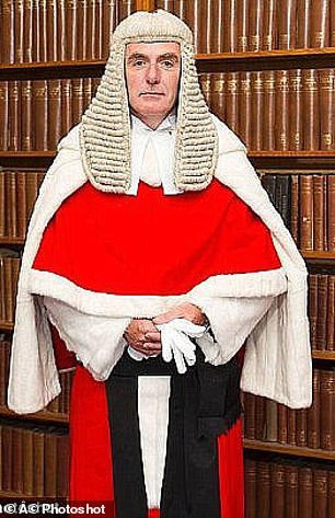 Mr Justice Hayden will decide is it's OK for a man to continue sleeping with his wife of 20 years [Credit: Photoshot]