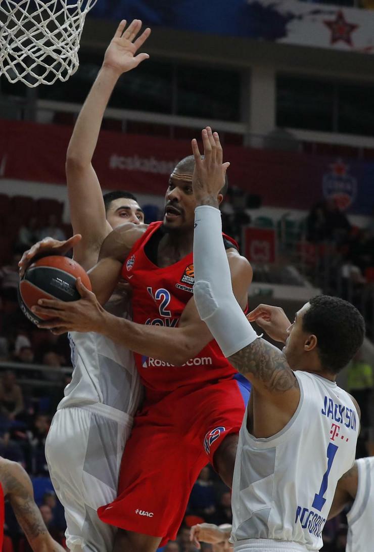 KK Budućnost, KK CSKA Moskva