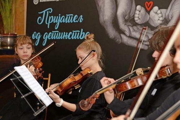 Dečja filharmonija - na promoviji projekta Prijatelj od detinjstva
