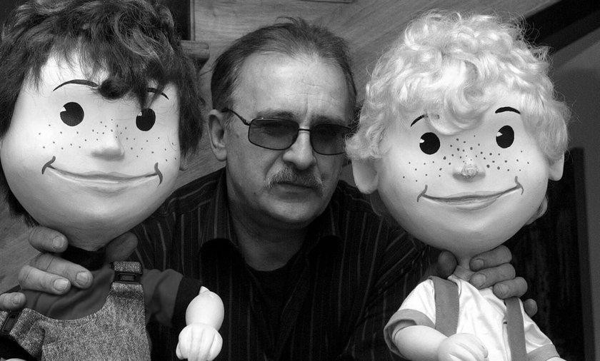 """Roman Nehrebecki nie żyje. To on był pierwowzorem Lolka w kreskówce """"Bolek i Lolek"""""""