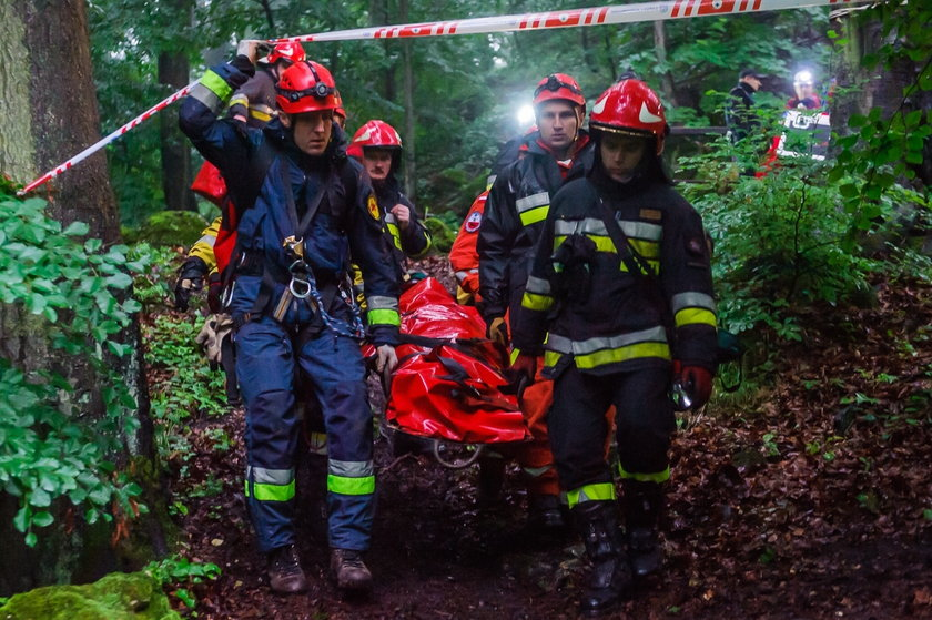 Wypadek w jaskini Studnisko