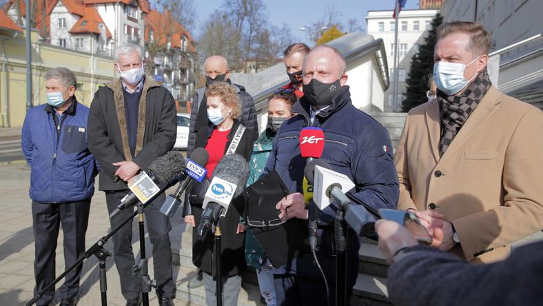Jacek Protas, Andrzej Dowgiałło, Piotr Jakubowski, Marcin Kuchciński