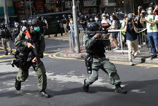 Chińskie porządki w Hongkongu. Na Pekin posypały się gromy krytyki z zagranicy
