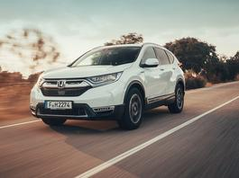 Honda CR-V Hybrid - hybryda zamiast diesla