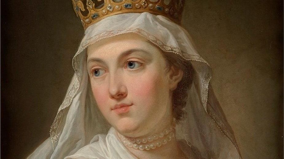 Jadwiga na portrecie Bacciarellego