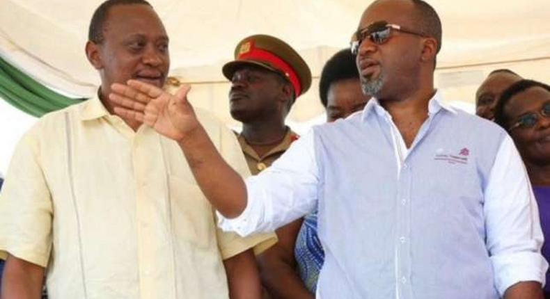Joho has accused the Jubilee administration led by President Uhuru Kenyatta (left) of using all of its state organs to frustrate and prevent him from being re-elected as Mombasa Governor.