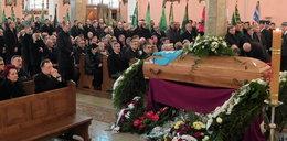 Marszałek pożegnał zmarłego syna