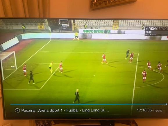 Partizan postigao gol iz ofsajda