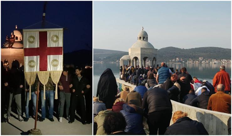 Krstionica, Crna Gora