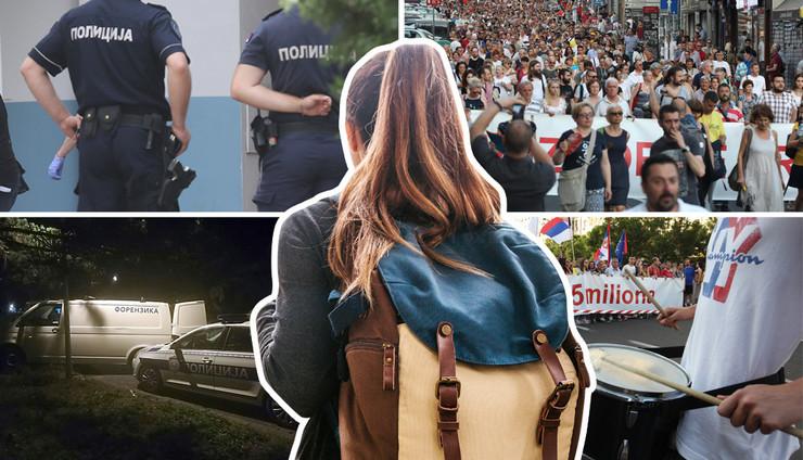 protesti kriminal turizam RAS Oliver Bunic, Petar Dimitrijevic, Shutterstock