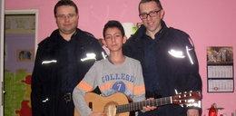 Policjanci spełnili marzenie chłopca