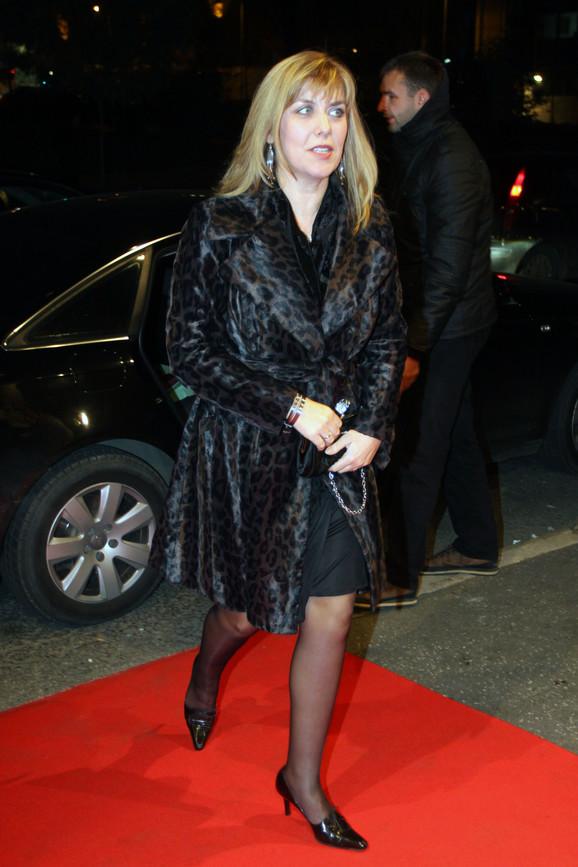 Ministarka sporta Snežana Samardžić-Marković