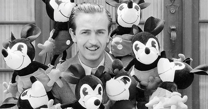 Według osób, które znały Walta Disneya, był on bardziej typem artysty niż biznesmena
