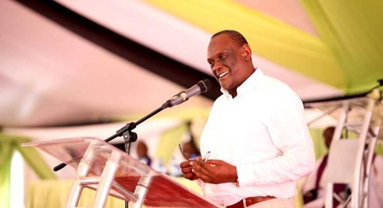 Jubilee Party Vice Chairman David Murathe. He has maintained that DP Ruto should retire in 2022 and threatened to head to the Supreme Court