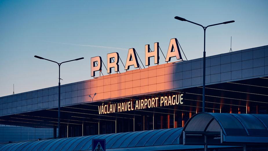 Lotnisko w Pradze