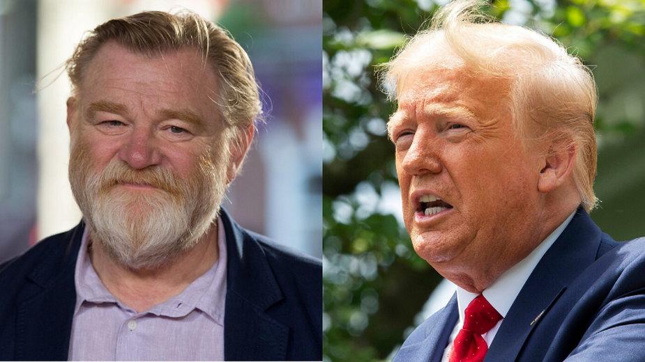 Brendan Gleeson zagra Donalda Trumpa