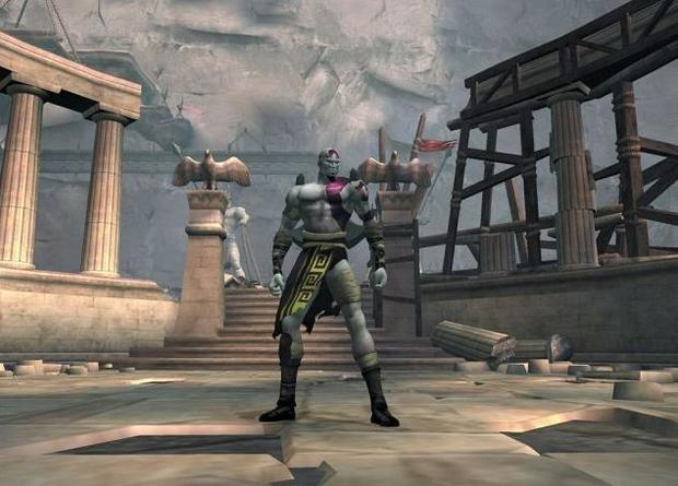 God of War na PlayStation 2