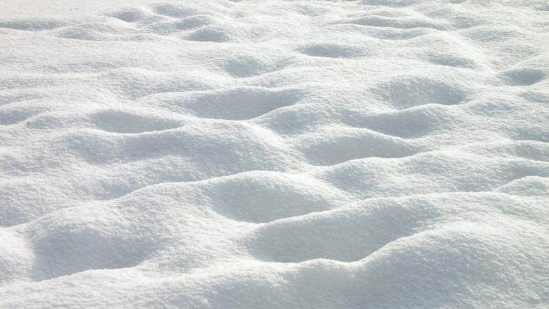 śnieg zaspa