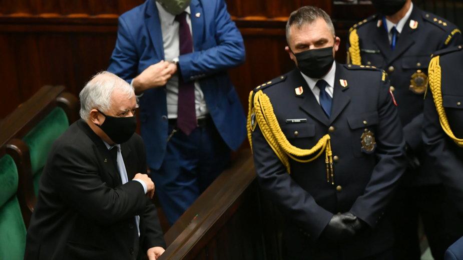 20a27112 - WARSZAWA POSIEDZENIE SEJMU (Jarosław Kaczyński)