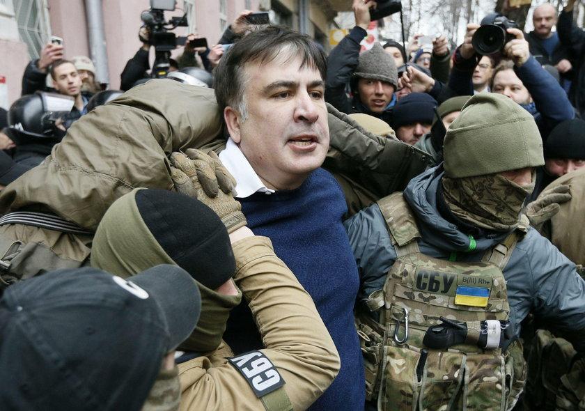 Ukraina nie chce Saakaszwilego. Odesłano go do Polski samolotem