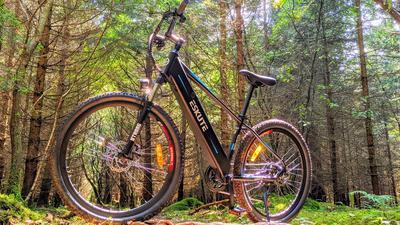 Das vielleicht schönste E-Mountainbike für 1100 Euro: Eskute Voyager im Test