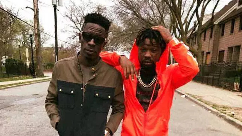 Shatta Wale and Junior US