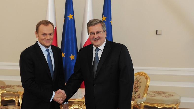 Premier chwali współpracę z prezydentem