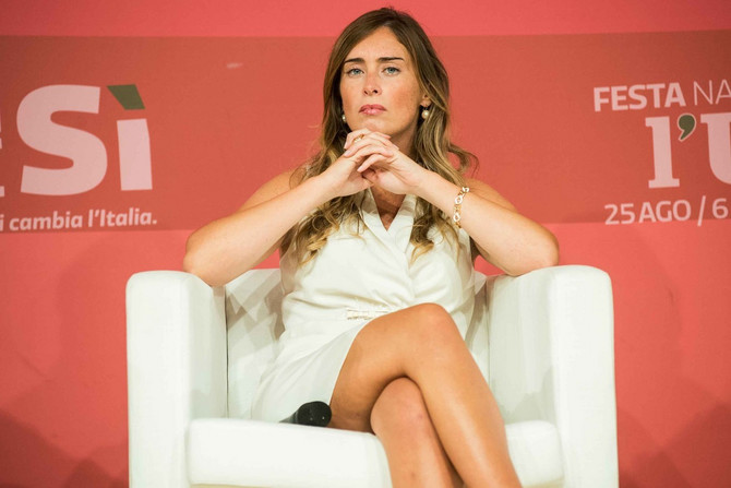 Političarka Marija Elena Boski 2015. u Rimu