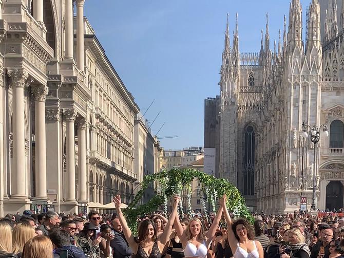 Donji veš Lisca ponovo na modnoj reviji u centru Milana
