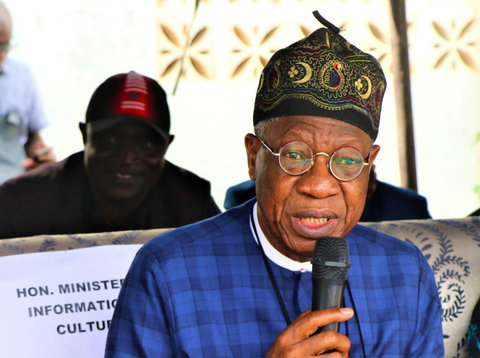 Minister for Information and Culture, Lai Mohammed