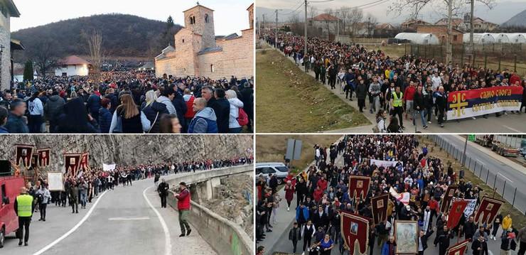 Crna Gora litije