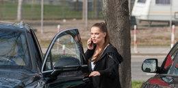 Pod Warszawą skradziono bentleya o wartości 750 tys. zł. Auto należało do Joanny Liszowskiej!