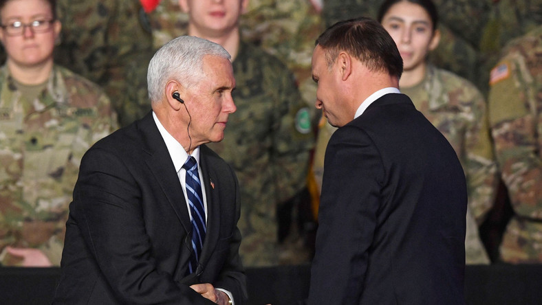 Mike Pence Andrzej Duda